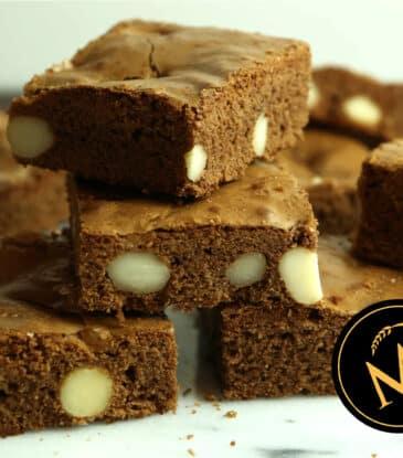 Macadamia Brownies – super nussig