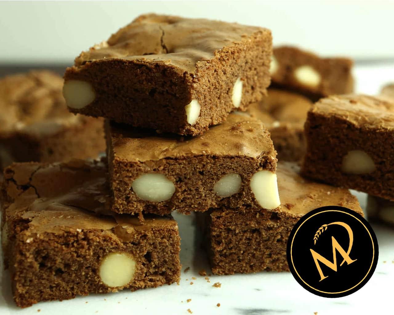 Macadamia Brownies - Rezept Marcel Paa