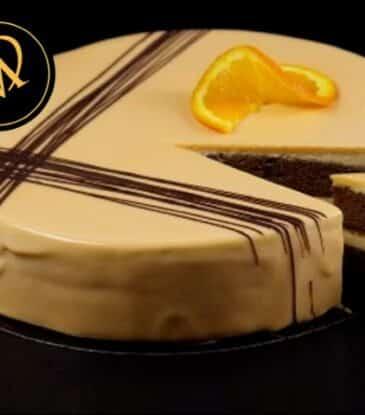 Orangen Schokoladen Torte