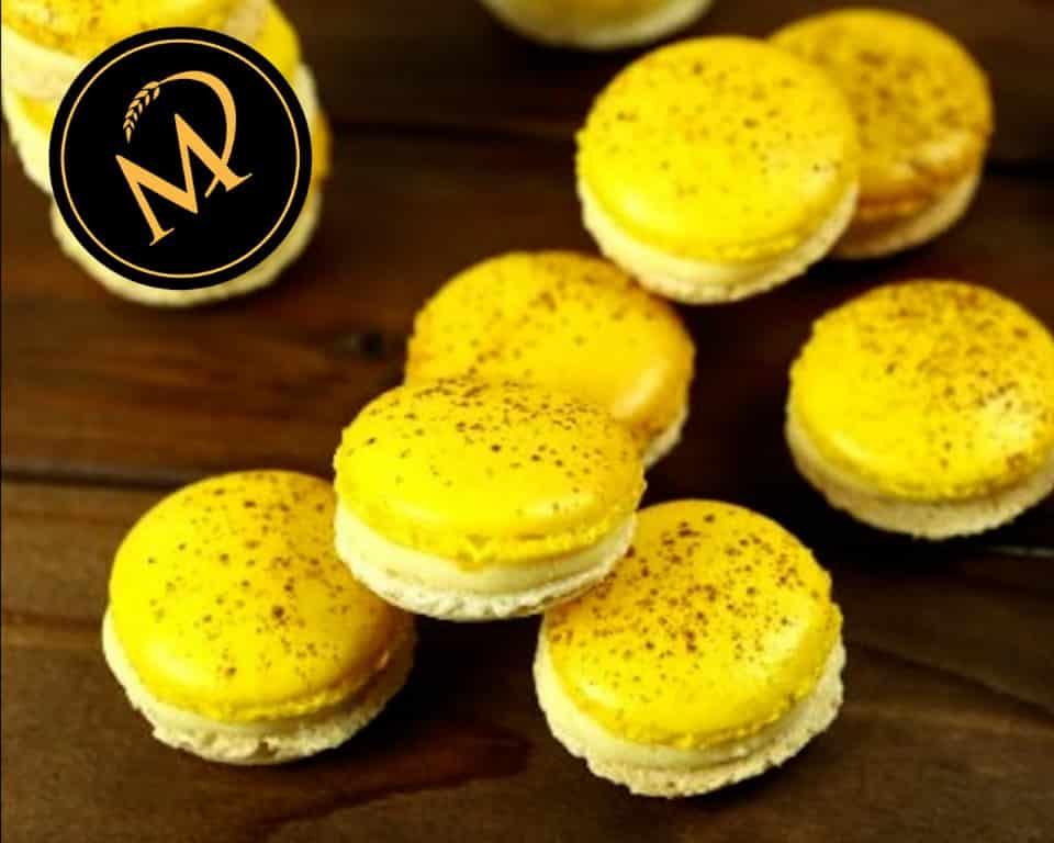 Bananen Joghurt Macarons - Rezept Marcel Paa
