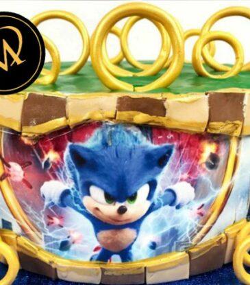 """Sonic Motivtorte """"Sonic the Hedgehog"""""""