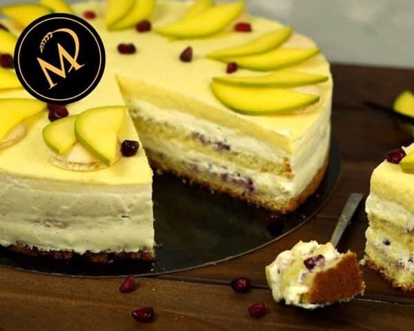 Vanille Mango Torte - Rezept Marcel Paa