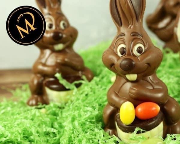Schokoladen Osterhasen - Rezept Marcel Paa