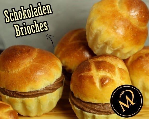 Schokoladen Brioches - Rezept Marcel Paa