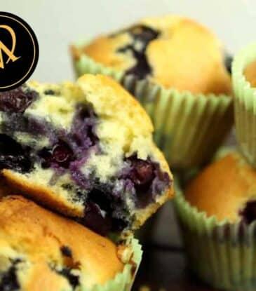 Blaubeer Muffins – Heidelbeer Muffins