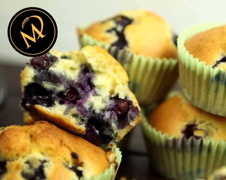 Blaubeer Muffins - Rezept Marcel Paa