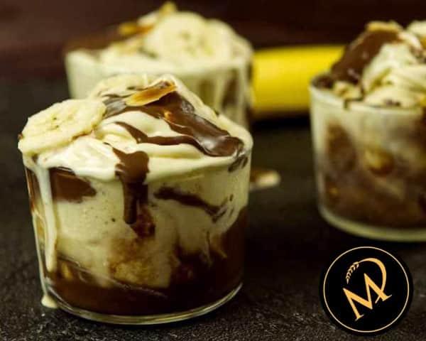Bananen Joghurt Eis - Rezept Marcel Paa