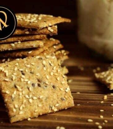 Sauerteig Cracker – Sauerteig Knäckebrot