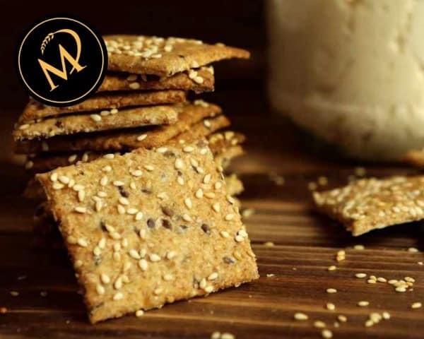 Sauerteig Cracker - Rezept Marcel Paa