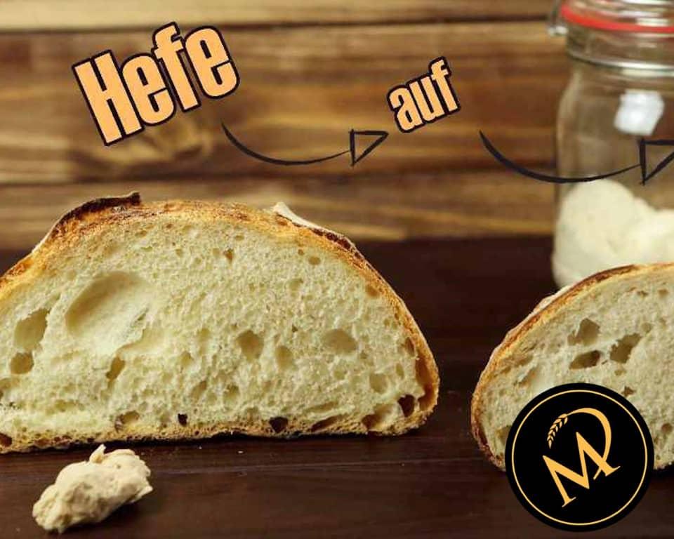 Hefe mit Sauerteig ersetzen - Rezept Marcel Paa