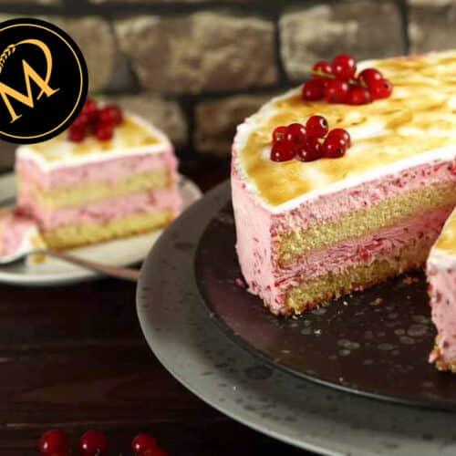 Johannisbeeren Skyr Torte - Rezept Marcel Paa