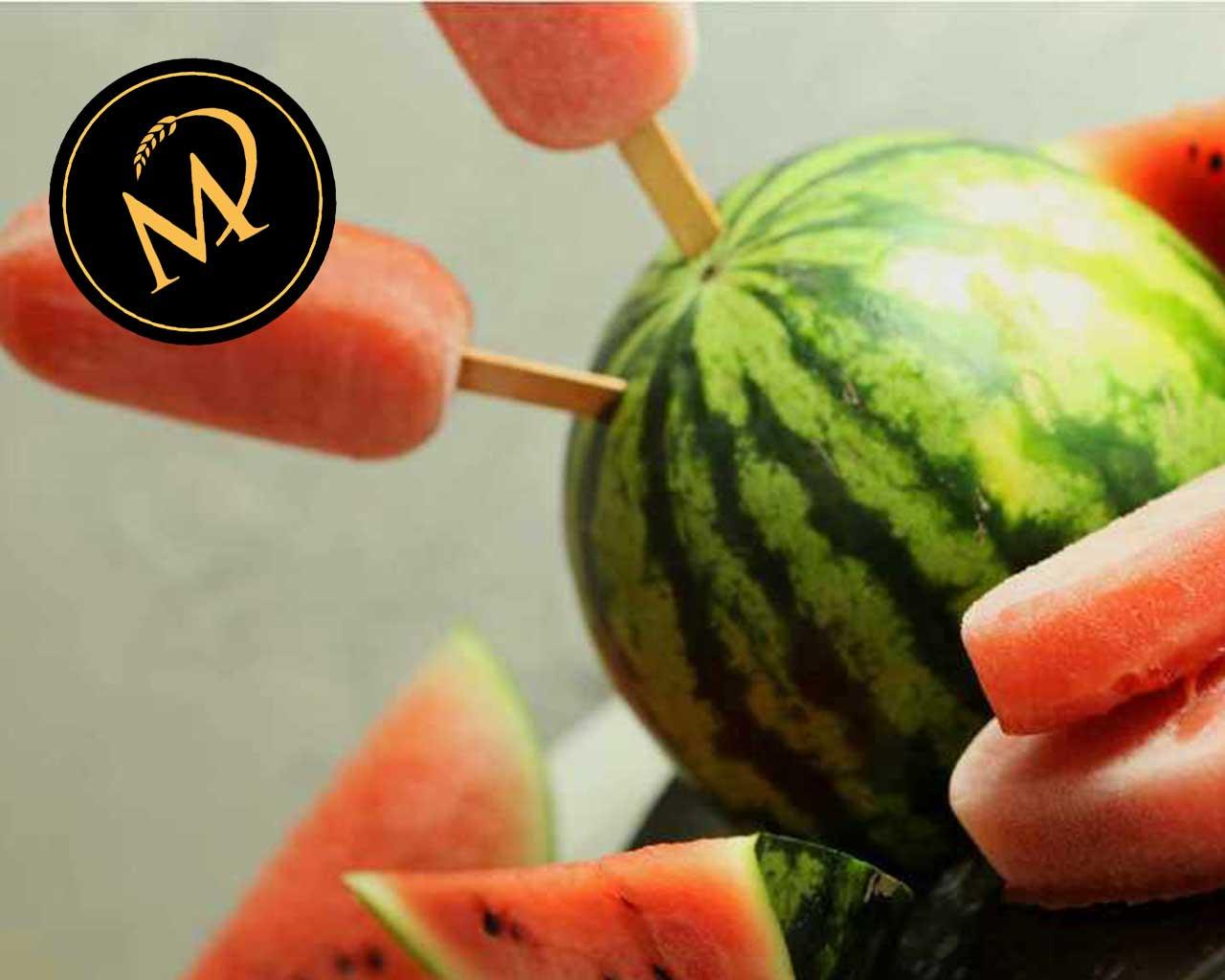 Wassermelonen Eis am Stiel - Rezept Marcel Paa