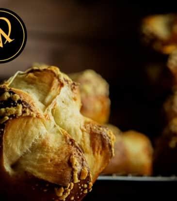 Laugen Käse Brötchen – Rezept ohne Hefe
