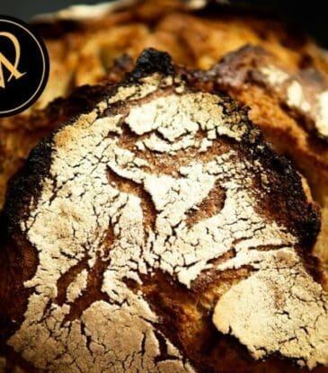 Rogg 'n' Roll Laib – Roggen Brot