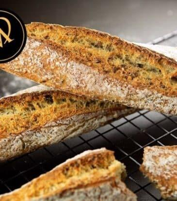Multisaaten Baguettes – einfach knusprig