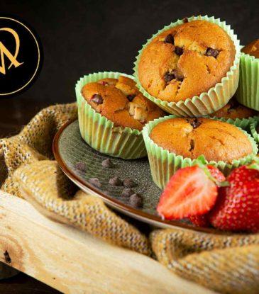 Erdbeer Schoko Muffins