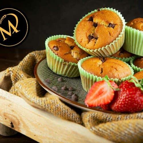 Erdbeer-Schoko-Muffins