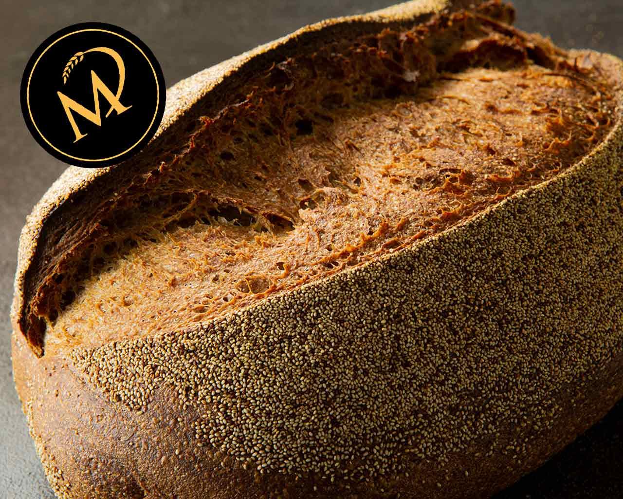 Teff Weizen Brot