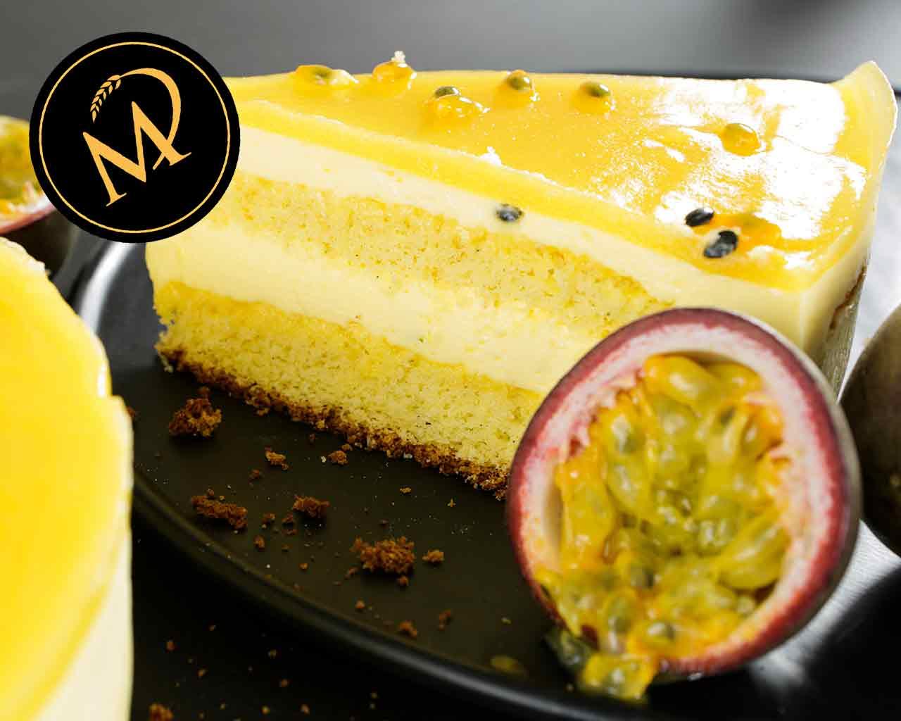 Mango Passionsfrucht Torte