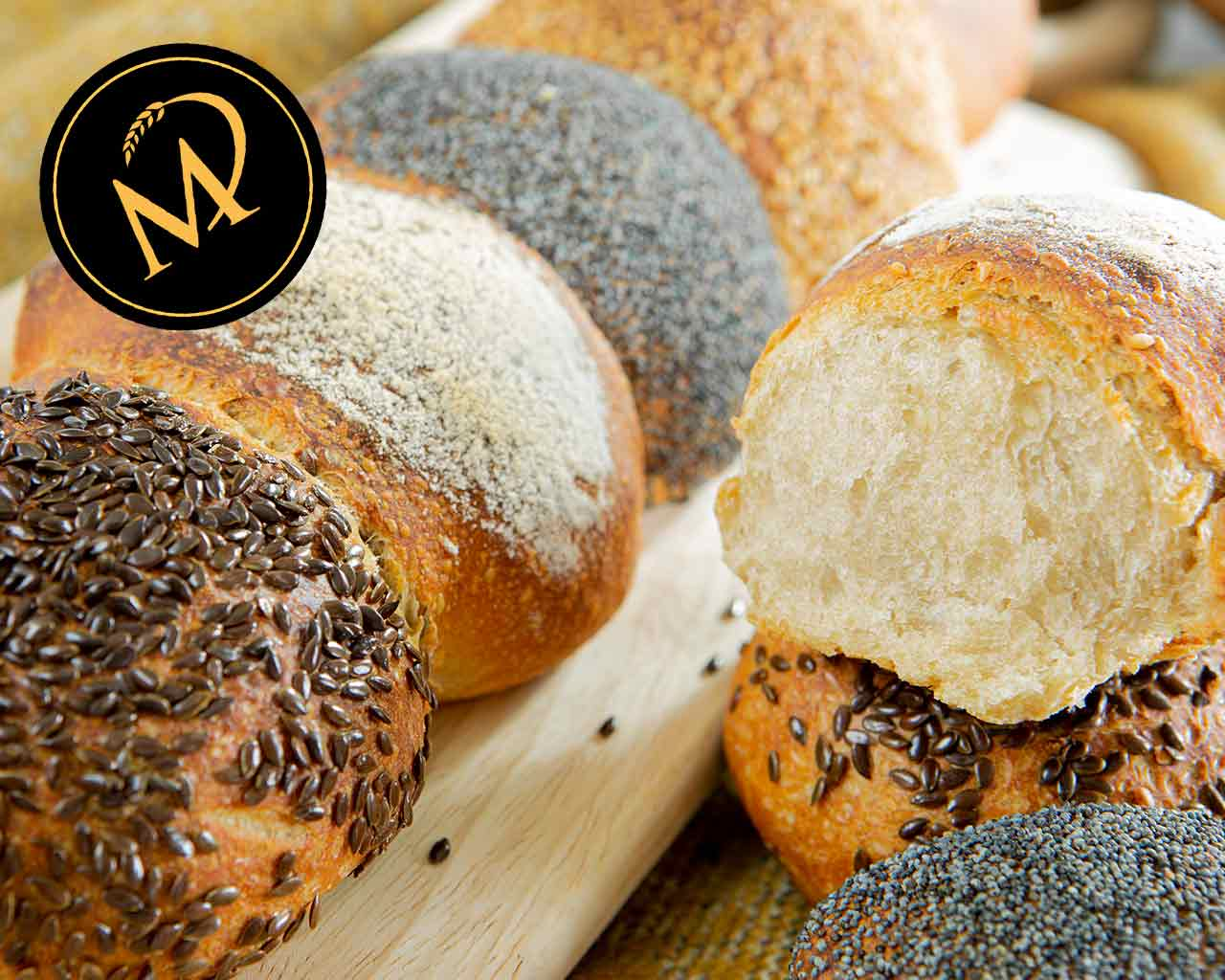 No knead Grill-Brötchen